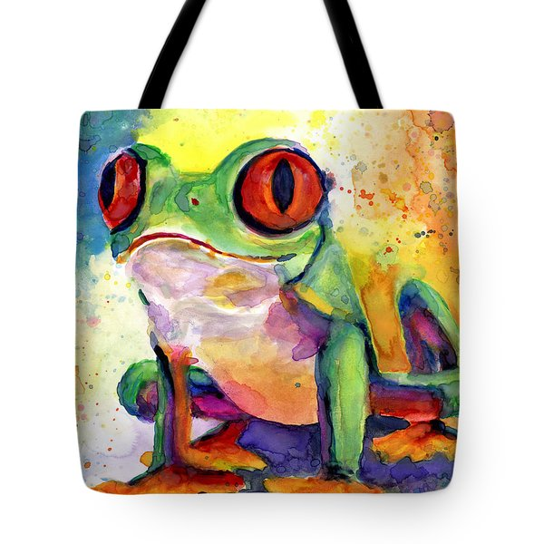 Froggy Mcfrogerson Tote Bag