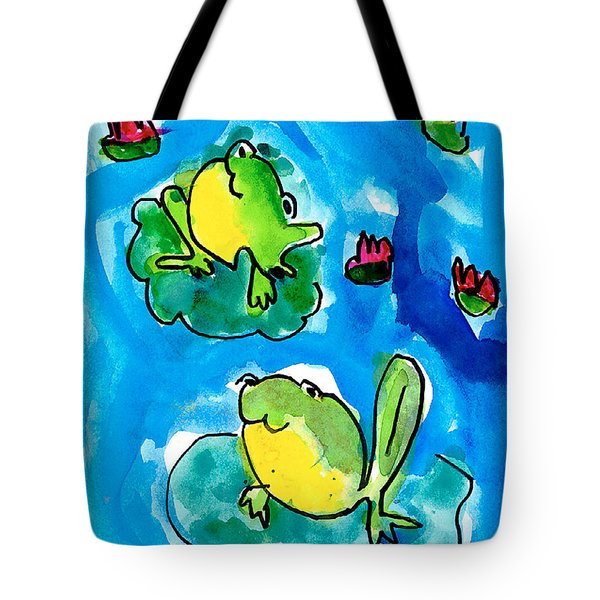 Frogs Tote Bag