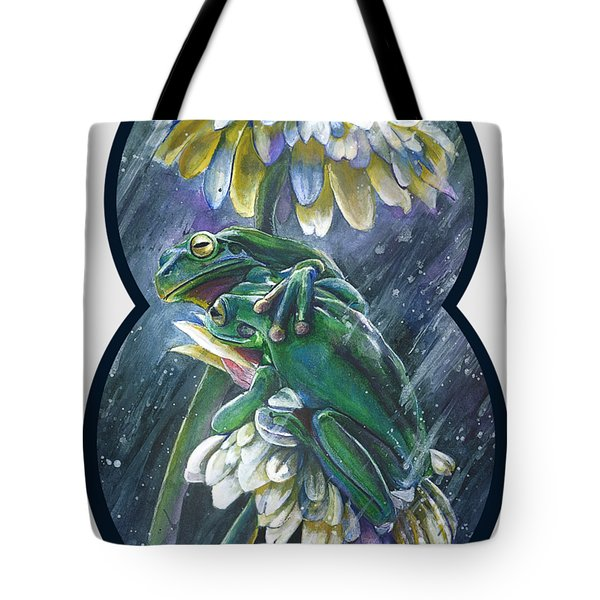 Frogs- Optimized For Shirts And Bags Tote Bag