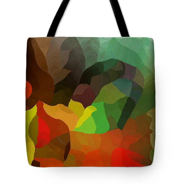 Frolic In The Woods Tote Bag by David Lane