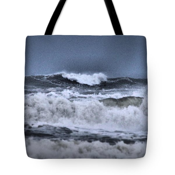 Tote Bag featuring the photograph Frolicsome Waves by Jeff Swan