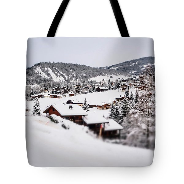 Tote Bag featuring the photograph From A Distance- by JD Mims