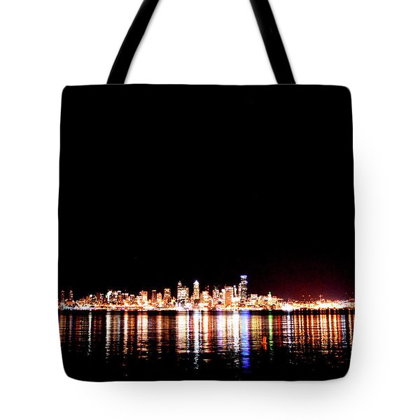 From Alki -wide Tote Bag