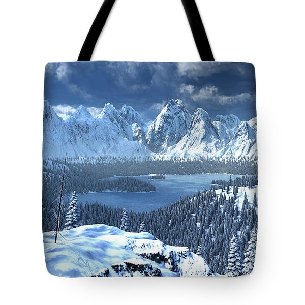 From An Open Sleigh Tote Bag