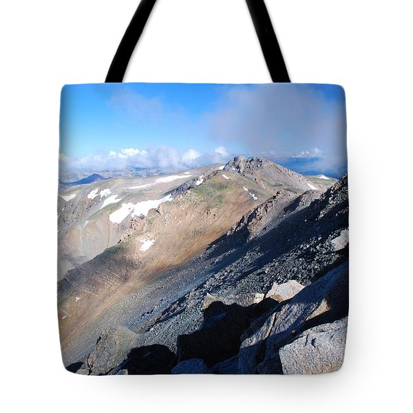 From Atop Mount Massive Tote Bag