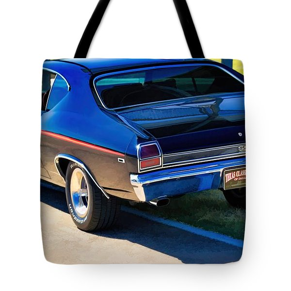 From Behind Tote Bag