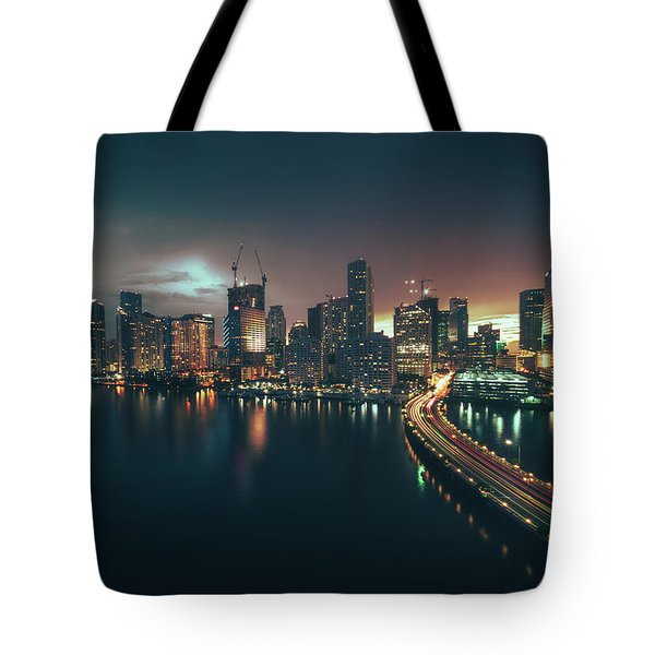 from Brickell Key Tote Bag