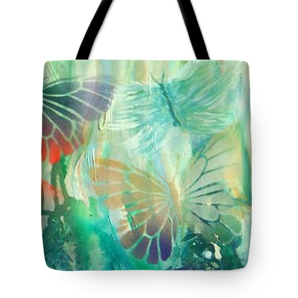 From Butterfly Whispers To Angel Wings Tote Bag