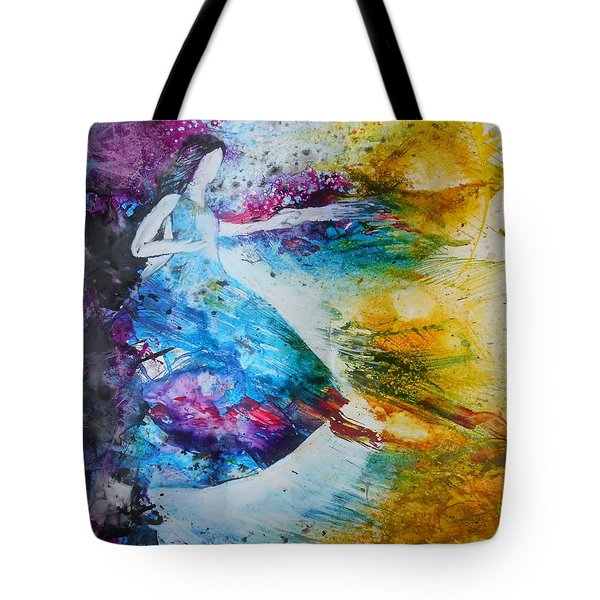 From Captivity To Creativity Tote Bag