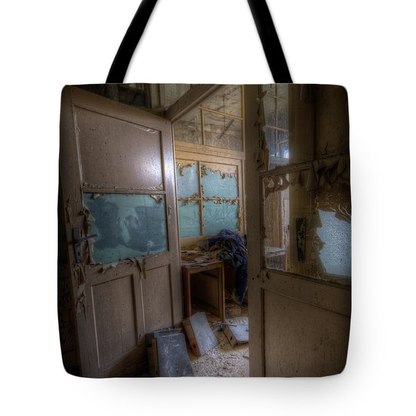 From Darkness Tote Bag by Nathan Wright