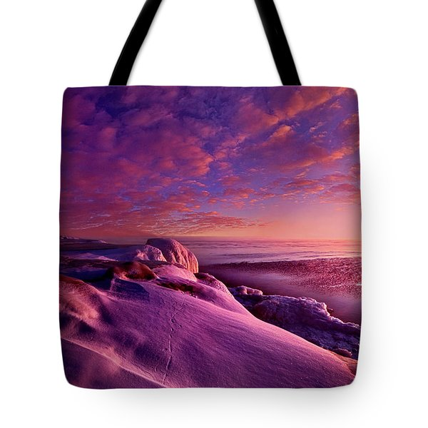 Tote Bag featuring the photograph From Inside The Heart Of Each by Phil Koch