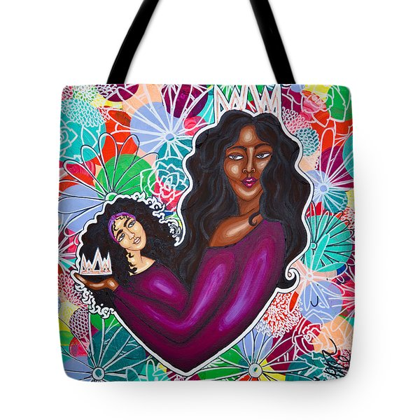From Mom With Love Tote Bag