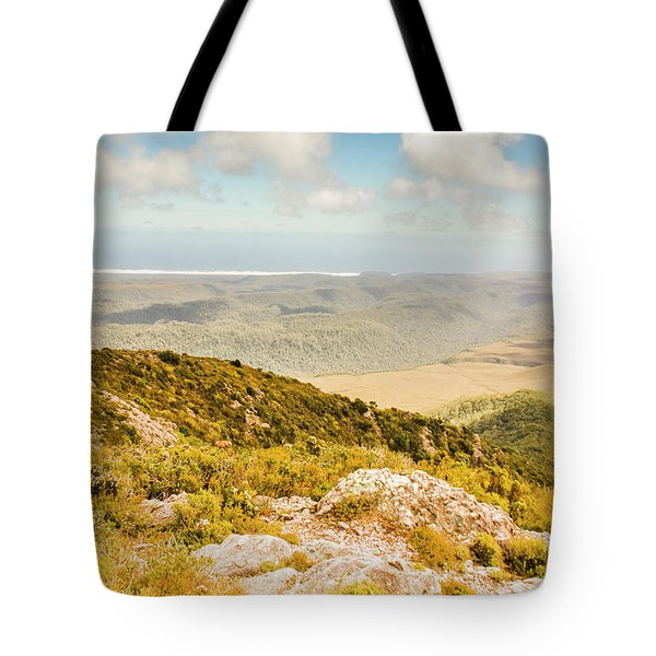 From Mountains To Seas Tote Bag