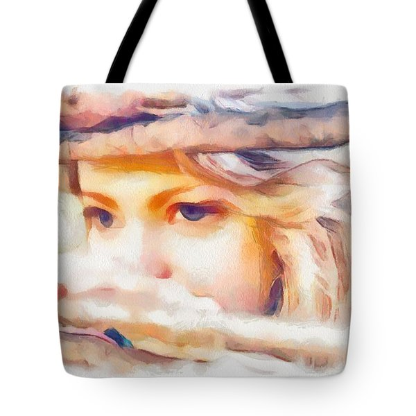 From My Side Of The Fence Tote Bag