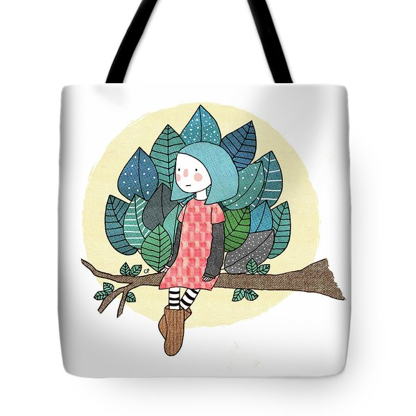 From My Throne Of Leaves, From My Bed Of Grass Tote Bag