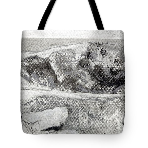 From My Window A Clump Of Trees Tote Bag