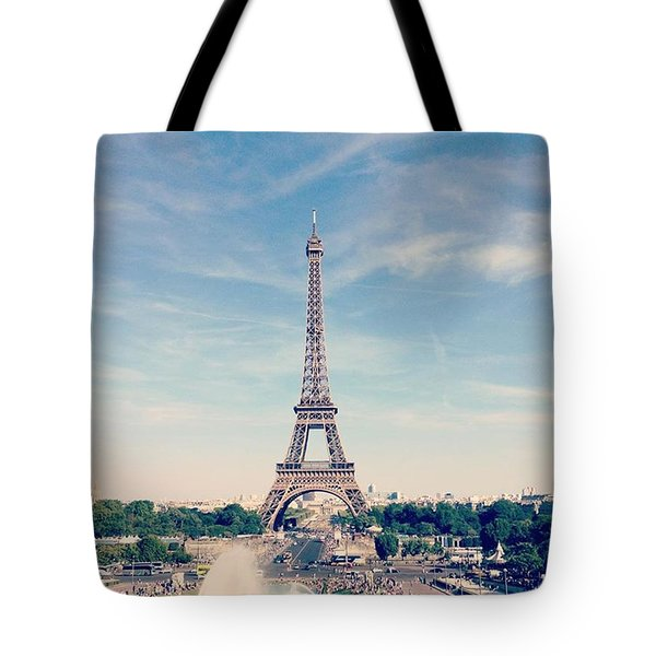 From Paris With Love Tote Bag