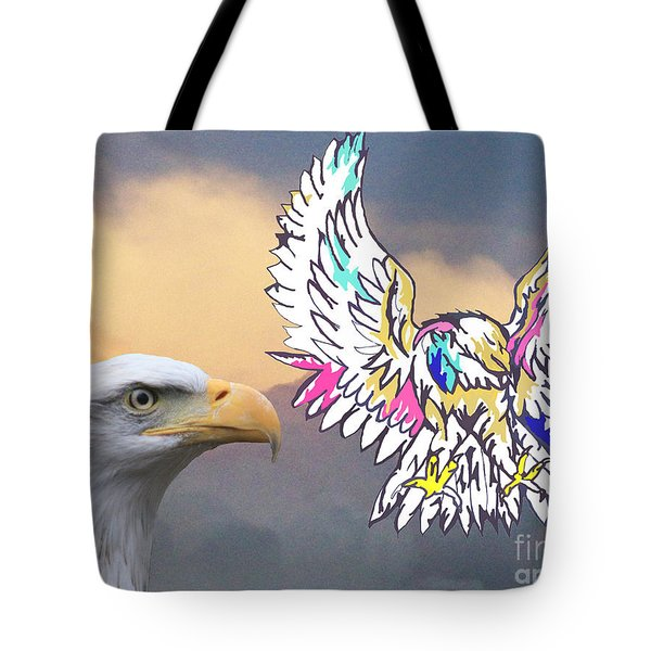 From Real To Abstraction Tote Bag