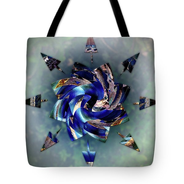 From Seeds Of Kaos Tote Bag by Another Dimension Art