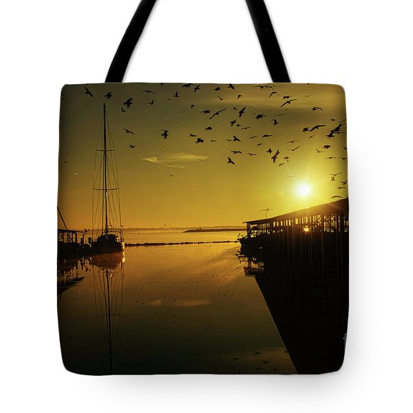 From Shadows Tote Bag