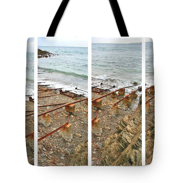 Tote Bag featuring the photograph From Ship To Shore by Stephen Mitchell