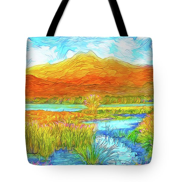 From Sky To Mountain To Stream - Boulder County Colorado Tote Bag by Joel Bruce Wallach