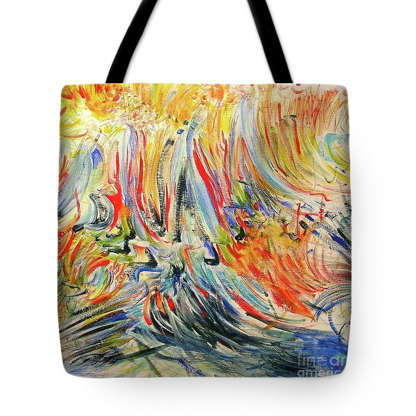 From Soul To Canvas Tote Bag