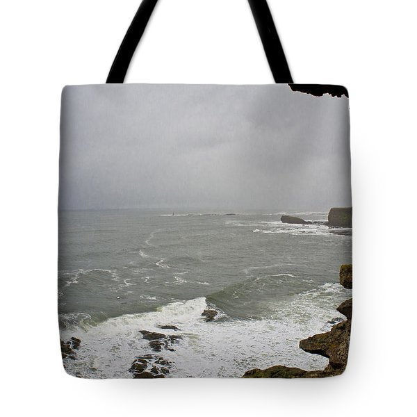 From The Castle Wall Tote Bag