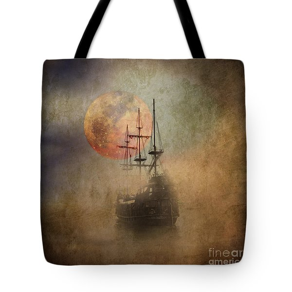 From The Darkness Tote Bag by Barbara Dudzinska