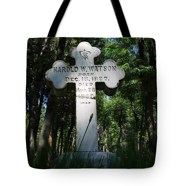 From The Grave No4 Tote Bag by Peter Piatt