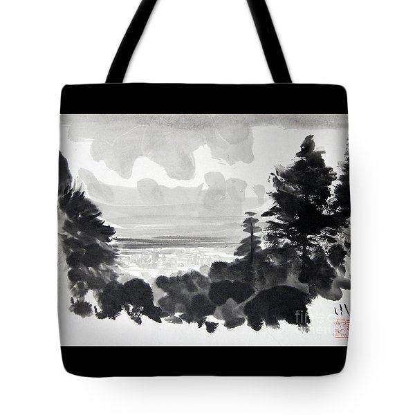 From The Hill Tote Bag