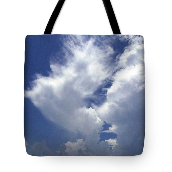 Tote Bag featuring the photograph From The Honey Moon Island Visitor Center 001 by Chris Mercer
