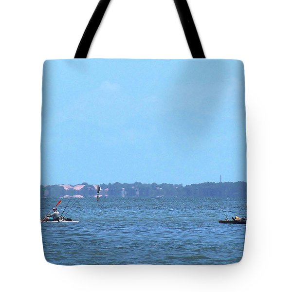 Tote Bag featuring the photograph From The Honey Moon Island Visitor Center 004 by Chris Mercer