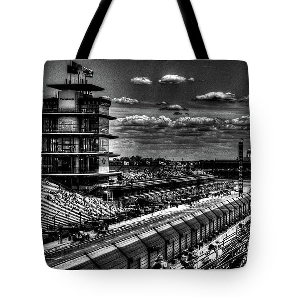 From The Hulman Suites  Tote Bag by Josh Williams