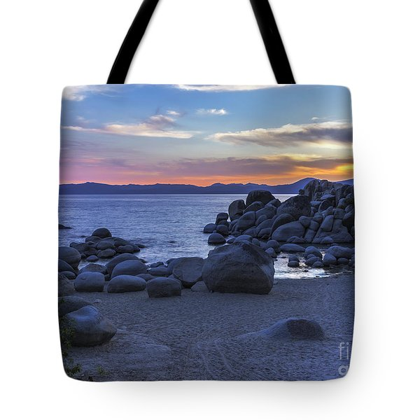 From The Nevada Shore Tote Bag by Nancy Marie Ricketts