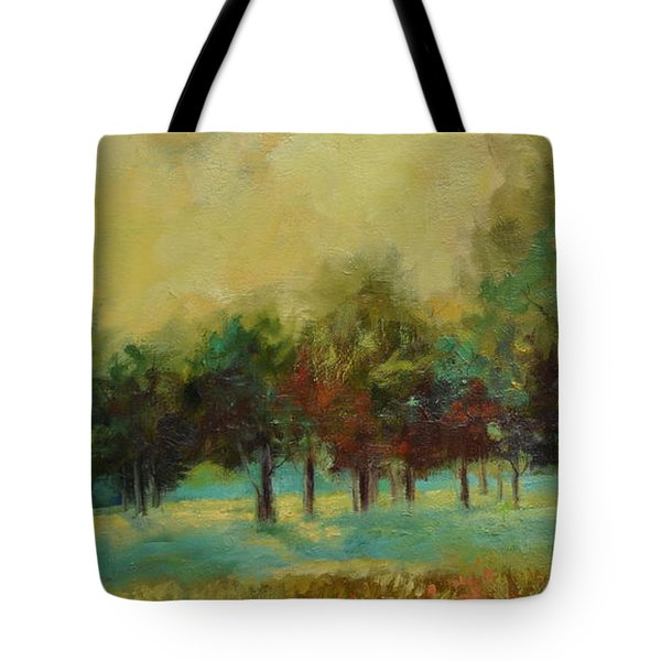 From The Other Side II Tote Bag by Ginger Concepcion