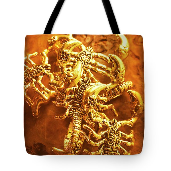 From The Pharaohs Tomb Tote Bag