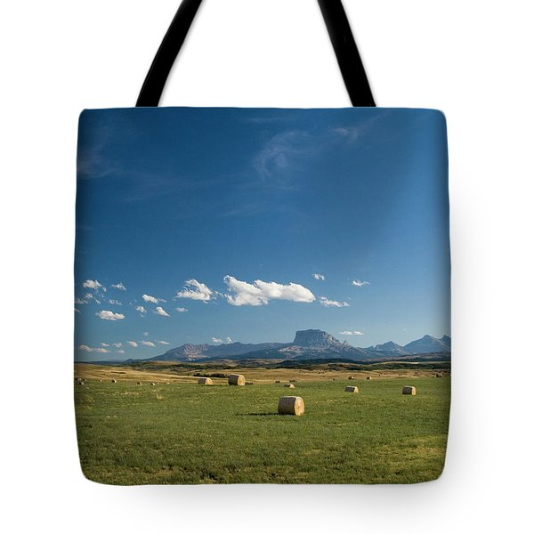 From The Prairie To The Rockies Tote Bag