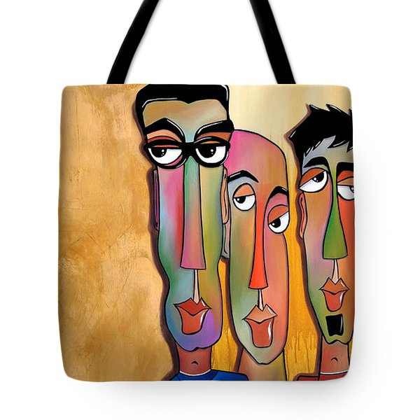 From The Rough Side Tote Bag