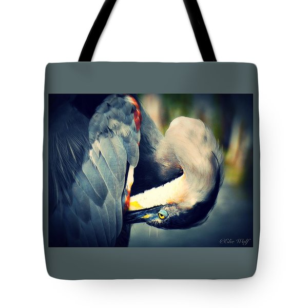 From The Series Great Blue Number 1 Tote Bag