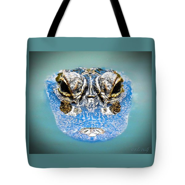 From The Series I Am Gator Number 4 Tote Bag