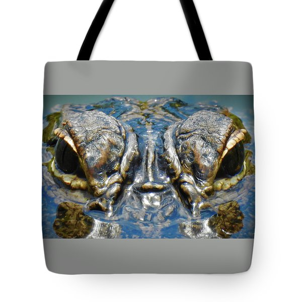From The Series I Am Gator Number 7 Tote Bag