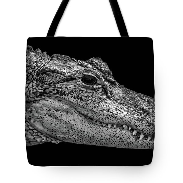 From The Series I Am Gator Number 9 Tote Bag