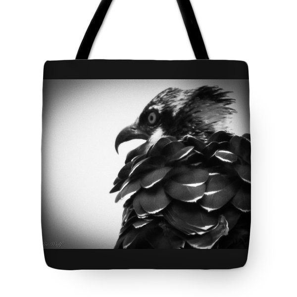From The Series The Osprey Number 4 Tote Bag