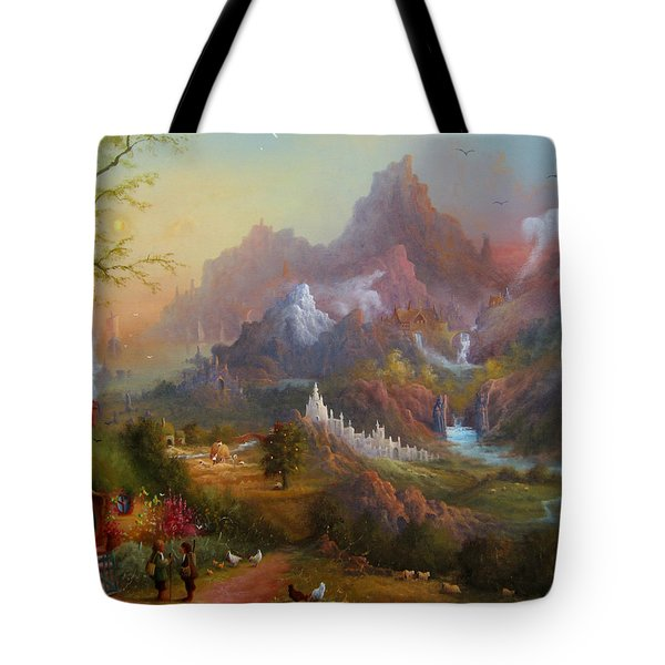 From The Shire To The Sea Tote Bag by Joe  Gilronan