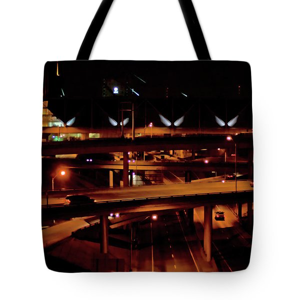 From The Summit Street Bridge Tote Bag