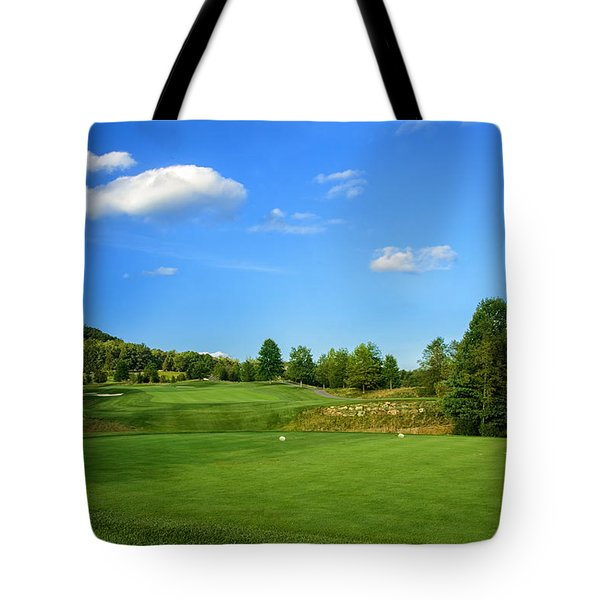 Tote Bag featuring the photograph From The Tee by Claire Turner