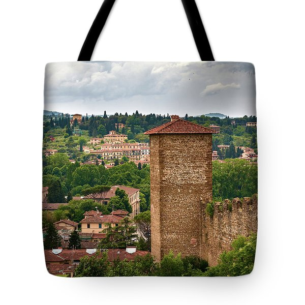 From The Top Of The Gardens Tote Bag