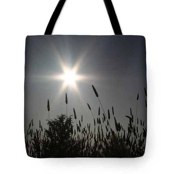 Tote Bag featuring the photograph From Where I Sit by Holly Ethan