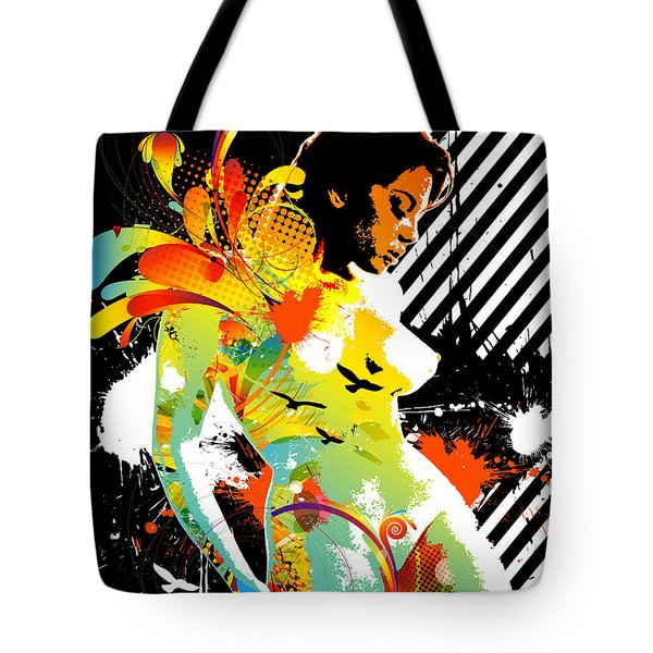 From Within Tote Bag by Chris Andruskiewicz